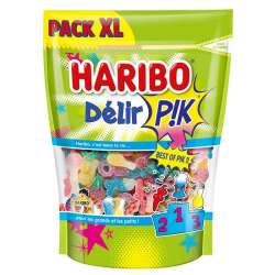 Haribo doypack XL delir pik 750g en stock
