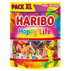 Haribo doypack xl happy life 750g en stock