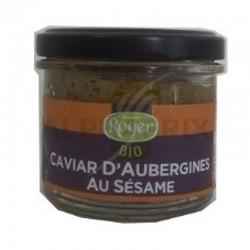Caviar d'aubergine bio 100g en stock
