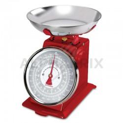 Balance mécanique 5kg Rétro Tradition 500 Terraillon Rouge en stock