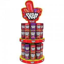 Sucettes Push Pop + Caroussel en stock
