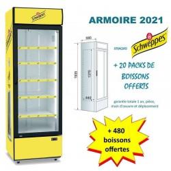 Armoire réfrigérée - marque Schweppes - New Design ! en stock