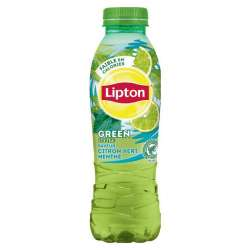 Lipton Green Ice Tea citron vert menthe Pet 50 cl en stock