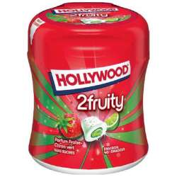 Bottle 40 dragées max 2fruity s/sucres Hollywood en stock