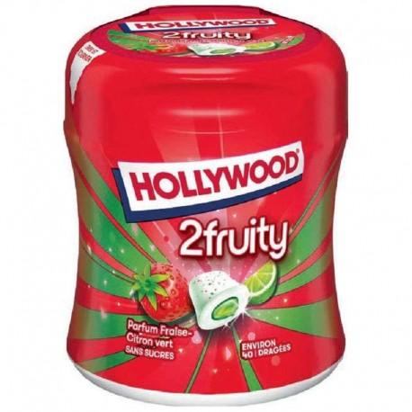Bottle 40 dragées max 2fruity s/sucres Hollywood