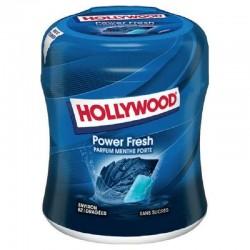 Bottle 60 dragées powerfresh s/sucres Hollywood en stock