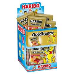 Haribo mini sachets Goldbear (ours d'or) 40g en stock
