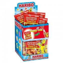 Haribo mini sachets Happy cola 40g en stock