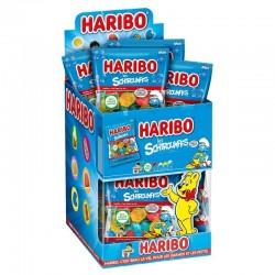 Haribo mini sachets Schtroumpfs lisses en stock