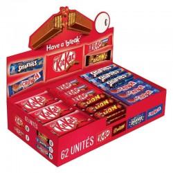 Chocobox 62 barres Nestlé en stock
