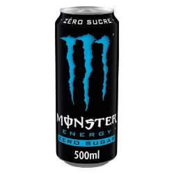 Monster Absolutely zero boîte 50cl