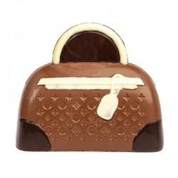 Coffret sac à main chocolat lait décore 145g en stock