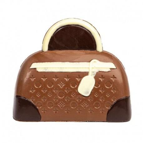 Coffret sac à main chocolat lait décore 145g