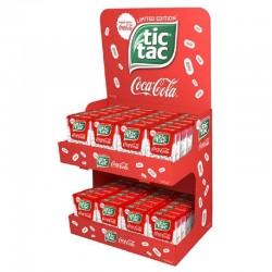 Présentoir 48 Tic Tac Coca Cola en stock