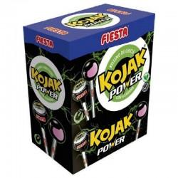 Sucettes Kojak gum Power Energy Fiesta en stock