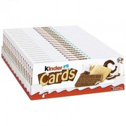 Kinder Cards T5 - 128g en stock
