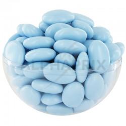 Dragées guimauve et chocolat noir LAVANDE (bleu ciel) - 1kg en stock