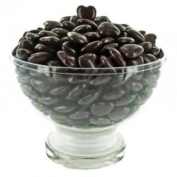 Mini coeurs au chocolat couleur CHOCOLAT - 500G en stock