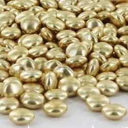 Mini confettis OR brillant - 200g en stock