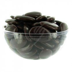 Avola Dauphine brillant CHOCOLAT - 500g