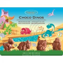 Boîte Choco Dino's lait 100g chocolat lait Hamlet