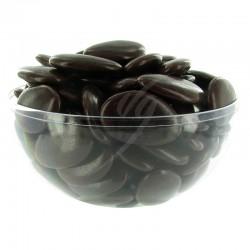 Dragées chocolat 54% couleur CHOCOLAT - 1kg en stock