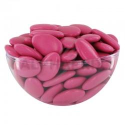 Dragées chocolat 54% couleur POURPRE - 1kg en stock