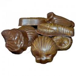 ~Crustacés praliné noir à l'ancienne kg Planchot en stock