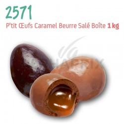 ~P'tits Oeufs Caramel Salé 1kg en stock