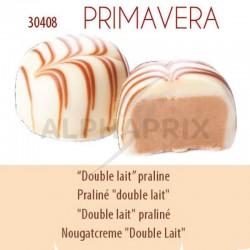 ~Chocolat blanc praliné double lait vrac