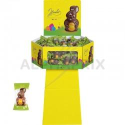 ~Display lapins fluffy 9.5cm emballage individuel 55g Hamlet en stock