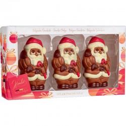 Coffret père Noël Santa en boîte de 3 - 165g