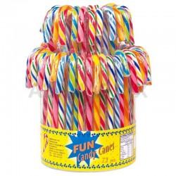 Candy canes multicolores