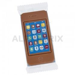 Téléphone portable chocolat au lait - 75g