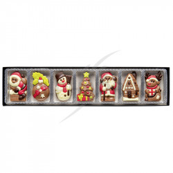 ~Reglette de Noël figurine chocolat 70g