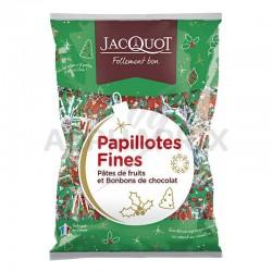 Papillotes fines coussin 1kg (900g net) Jacquot