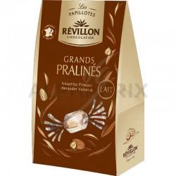 Pochette Papillotes Grands Pralinés lait 270g Révillon