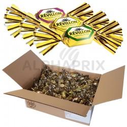 ~Papillotes assortiment noir Révillon 5kg (4.6kg net) en stock