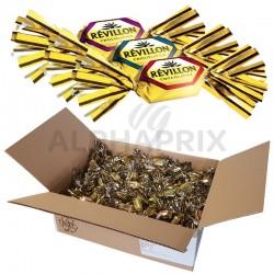 ~Papillotes assortiment lait Révillon 5kg (4.6kg net) en stock