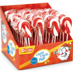 Display Candy canes pop
