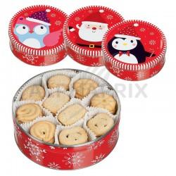 Coffrets métal biscuits Noël Danois - 400g en stock