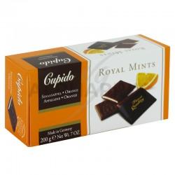 Plaquettes chocolat noir à la crème d'orange - 200g en stock