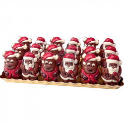 Plâteau père Noël et Elans