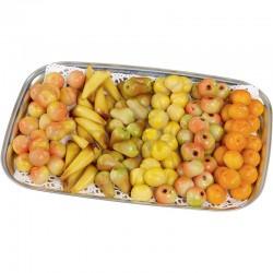 Plâteau mini fruits pâte amandes kg