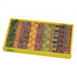Pâtes de fruits extra en forme de fruits - boîte de 1kg
