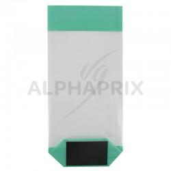 Sac fond carton fashion vert 120 x 260 en stock