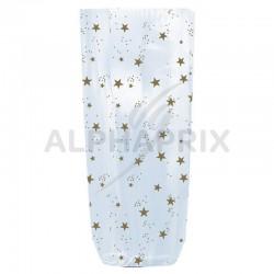 Sac fond carton décor stars 100 x 220