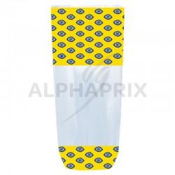 Sac fond carton provence jaune 100 x 220 en stock