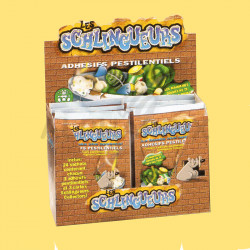 Schlingueurs en sachets de 3 adhesifs + 3 cartes en stock