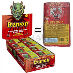 Pétards démon king size en stock